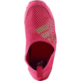adidas Kurobe Chaussures Enfant, easy green/tactile pink/easy green
